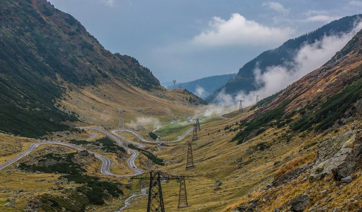 The most beautiful road in the world - Transfagarasan Romania