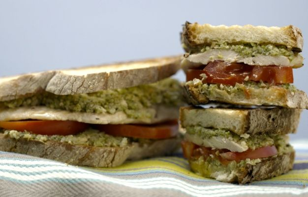 outlet salewa Grilled Chicken and Broccoli Pesto Panini recipe   Giada De Laurentiis