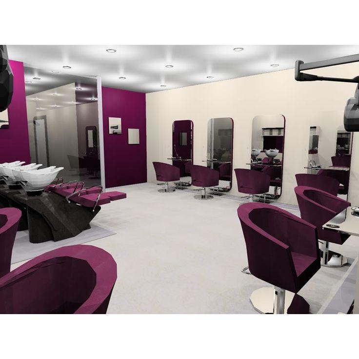 nail salon interior design  Google Search  Salon  Salon interior design Beauty salon decor