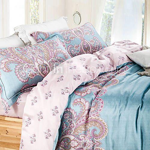 Boémia / boho conjuntos de cama super macia roupa de cama de tamanho duplo definir rainha rei cobertura tencel duvet de 4940613 2016 por R$380,96