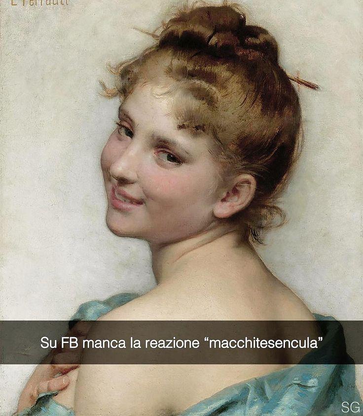 Snapchat: stefanoguerrera  Una giovane bellezza - Léon Bazile Perrault (1865 ca)  #seiquadripotesseroparlare  #stefanoguerrera