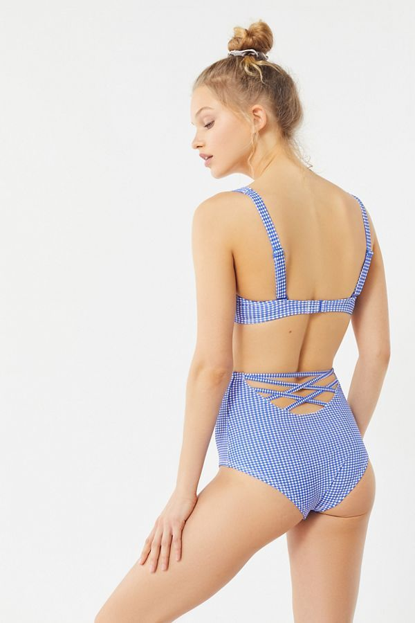 3946d9ff0b Out From Under Printed High-Waisted Bikini Bottom | want to wear ...