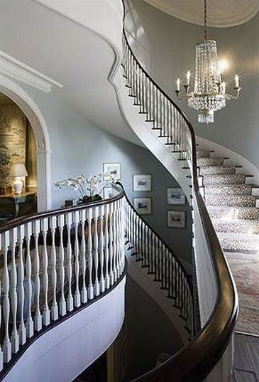 South Shore Decorating Blog: James Michael Howard (Part 1) #stairway