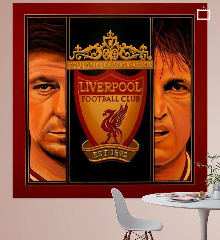 Nieuw in mijn Werk aan de Muur shop: Liverpool Schilderij