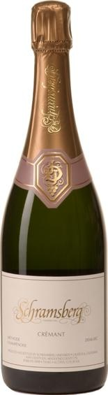 """Schramsberg 2007 Crémant, Demi-sec, North Coast.  Schramsberg Crémant Demi-sec is a delicate, off-dry sparkling wine: an American original. Crémant is French for """"creamy"""" and traditionally refers to a wine with light effervescence. It has approximately half the pressure of our other sparkling wines and presents a creamier texture with more exotic flavors."""