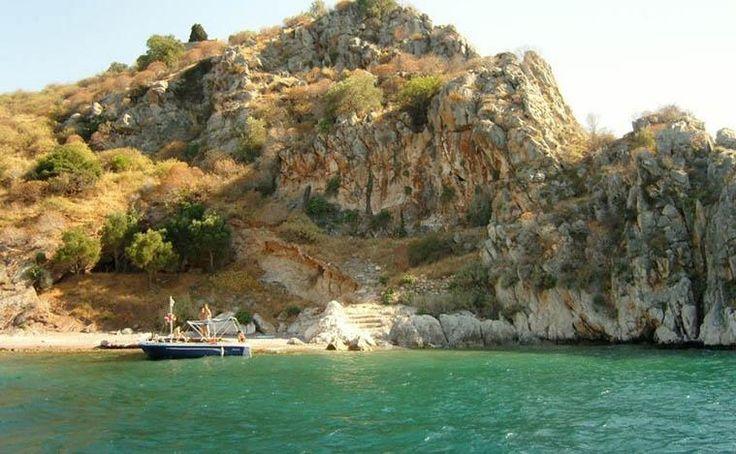 Daskalio Island near Tolo Argolis Peloponnese