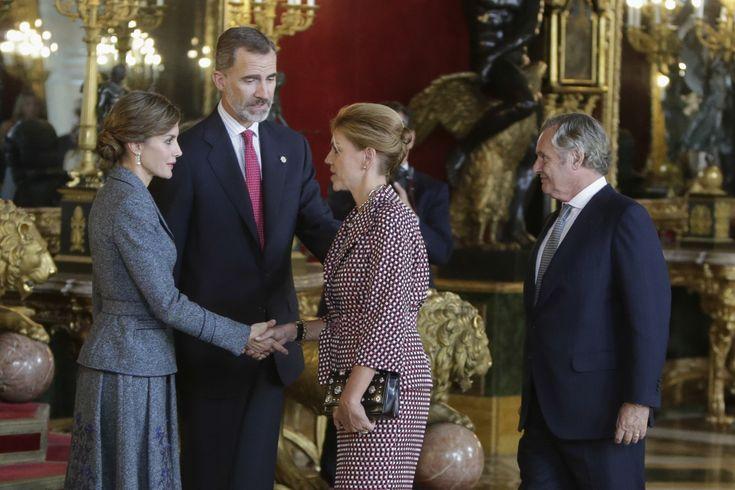 Los políticos en el Palacio - Las imágenes del día de la Fiesta Nacional