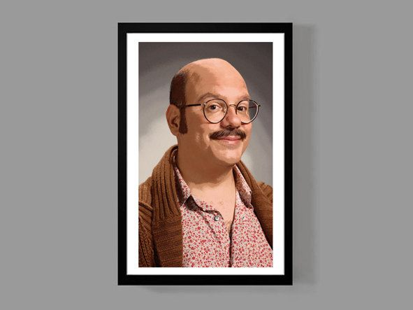 Arrested Development: Tobias Funke Custom Poster Print - Portrait, Cult Classic, Comedy, TV, Funny, Quirky by MusicAndArtCoUSA on Etsy