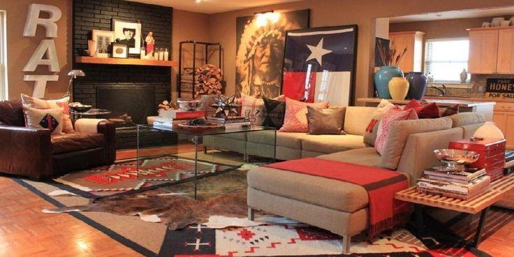 Native American Living Room Design