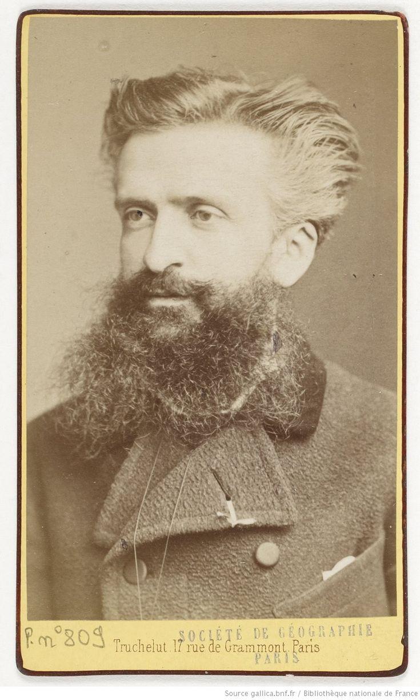 Gustave Le Bon ; photographie de Truchelut ; 1878 - source : BnF RetroNews