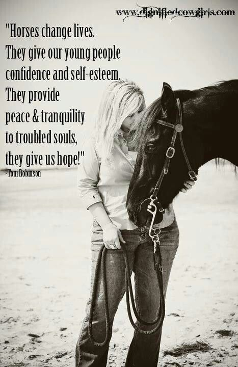 Horses changed my life