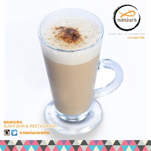 #IceCappuccino Introducing our best Ice Cappuccino. Make you feel so comfy Lets order: Naniura Sushibar Restaurant Jakarta Timur 021-86611789 || Tag ur reviews #NaniuraSushi #Sushi #FoodPorn #SushiLover #SushiResto #Cappuccino