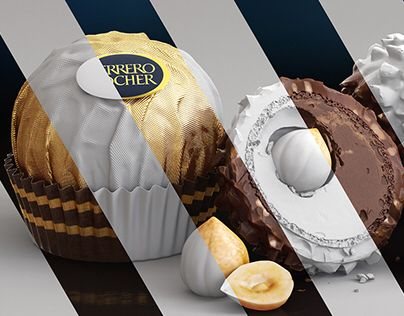 """Check out this @Behance project: """"CGI Product Visualization - Ferrero Rocher"""" https://www.behance.net/gallery/49178535/CGI-Product-Visualization-Ferrero-Rocher"""