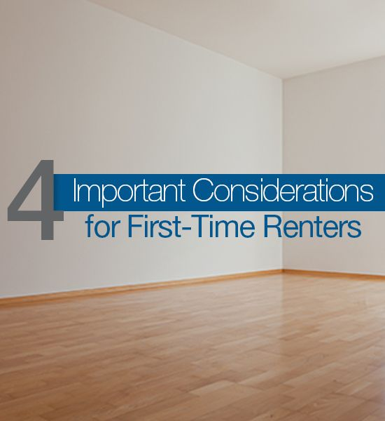 Four Important Considerations For First Time Renters. First Apartment  ChecklistMy ...  My First Apartment
