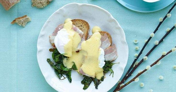 Egg benedict met Breydelspek en Hollandaise met Duvel tripel hop