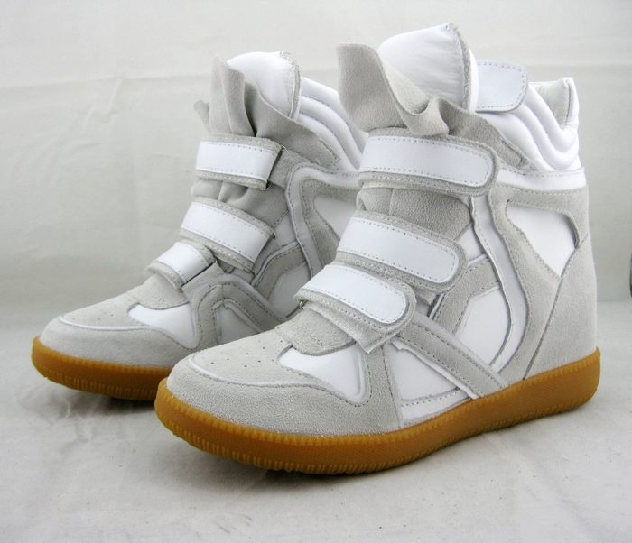 Isabel Marant Bekket High-top Suede Grey white Sneakers
