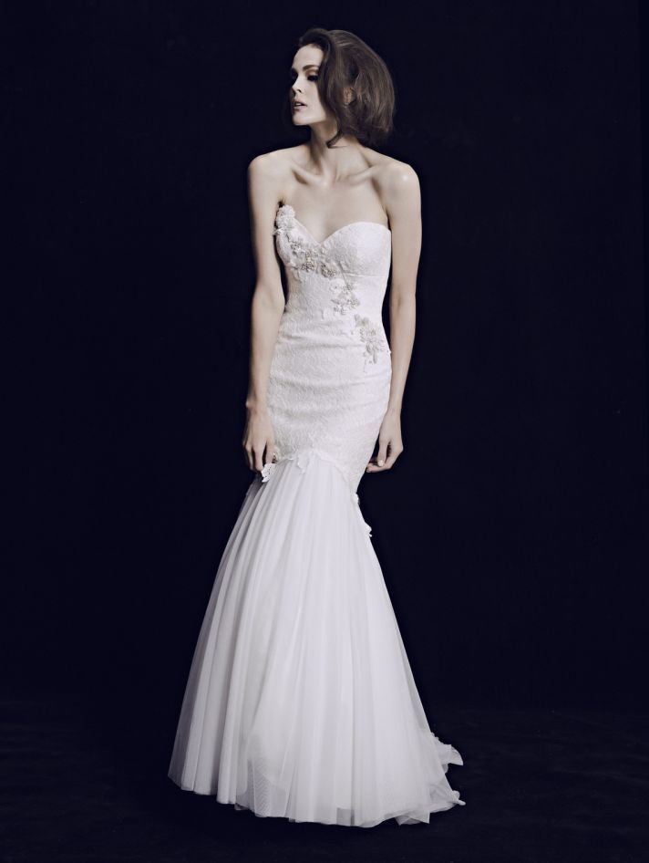 Classic, but not boring. We're digging the Mariana Hardwick 2013 Bridal Collection.