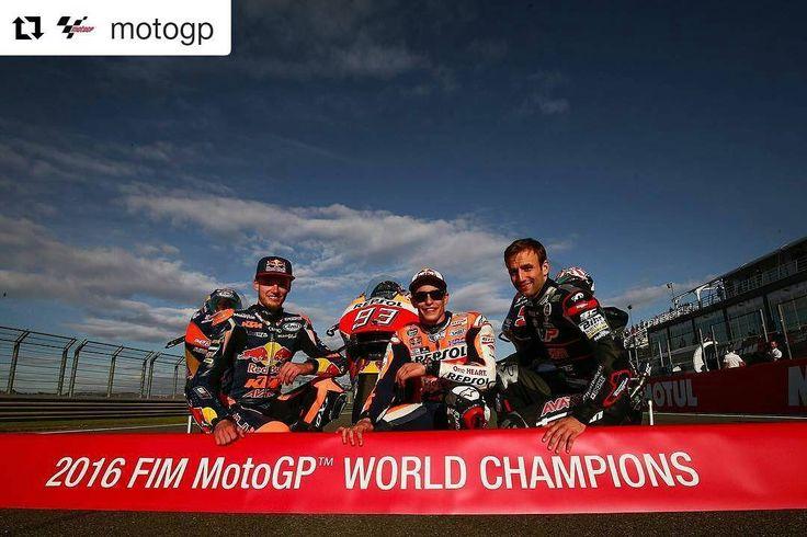 2016 FIM MotoGP WORLD CHAMPIONS