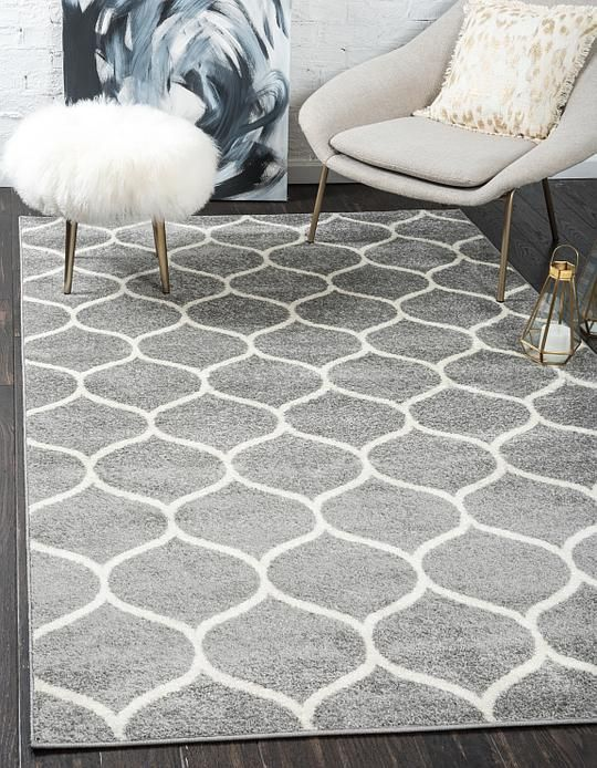 light gray trellis frieze area rug apartment dreams pinterest rh pinterest com