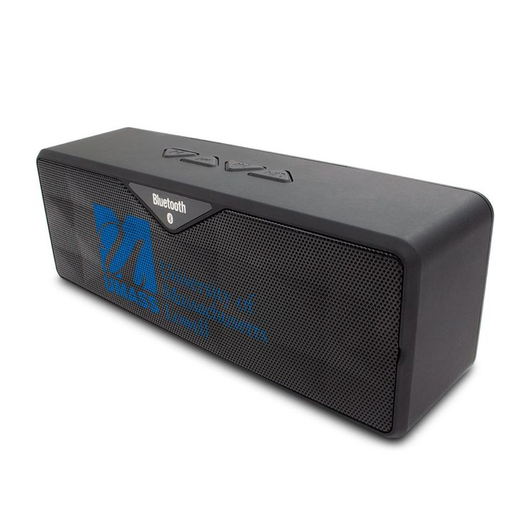 University of Massachusetts - Lowell Black Bluetooth Sound Box, Classic