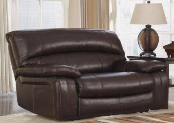 Laredo Leather Oversized Recliner