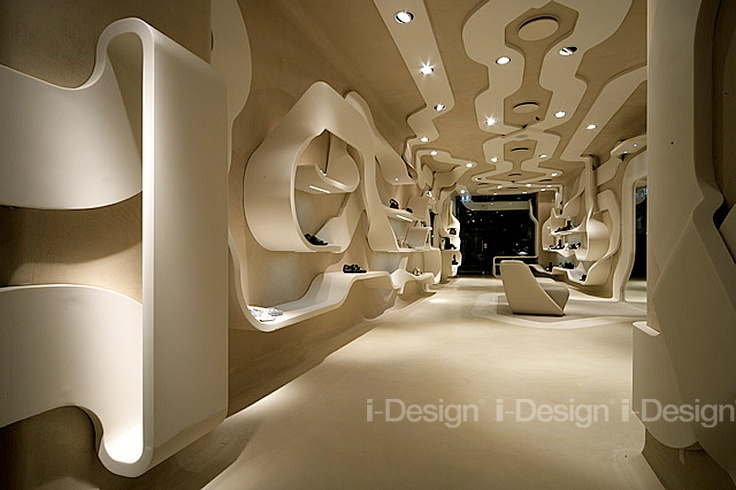 Furniture for exposure footwear #storedisplay - Find out more at www.i-designgroup.it/en/design/luxury-forniture-218#