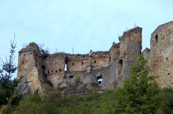 Odrzykoń – zamek Kamieniec