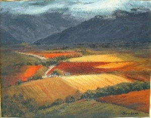 """Autumn Vineyards, De Doorns"""