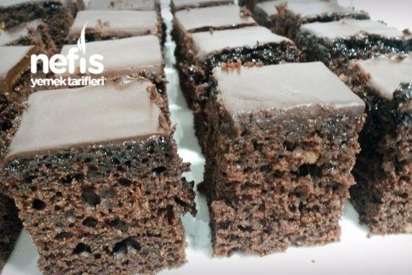 Pastane Usulü Browni Kek (Denemeyen Kalmasın)