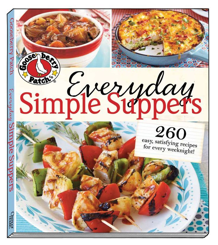 Everyday Simple Suppers Gooseberry Patch Cookbook Review with recipes
