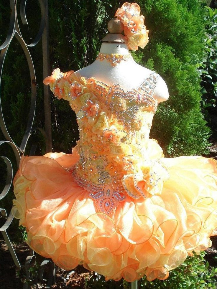 sweetCute Ball Gown Girl's Glitz Pageant Dresses Beads Crystals Flowers Feather in Clothing, Shoes & Accessories, Kids' Clothing, Shoes & Accs, Girls' Clothing (Sizes 4 & Up)   eBay
