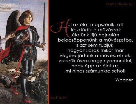 Idézetek a művészetről Wagner