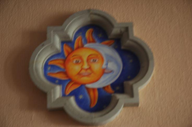 Mexican paintwork, summer sun.