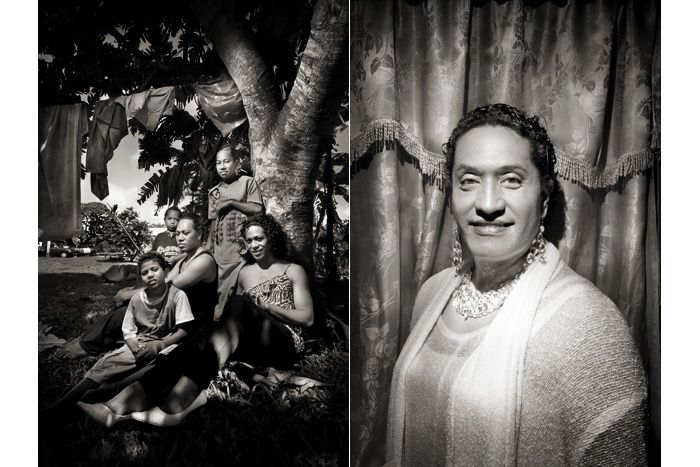 Marcello Bonfanti - PHOTOGRAPHER - The Fakaleiti of Tonga #Tonga #transgender #Polynesia #portrait