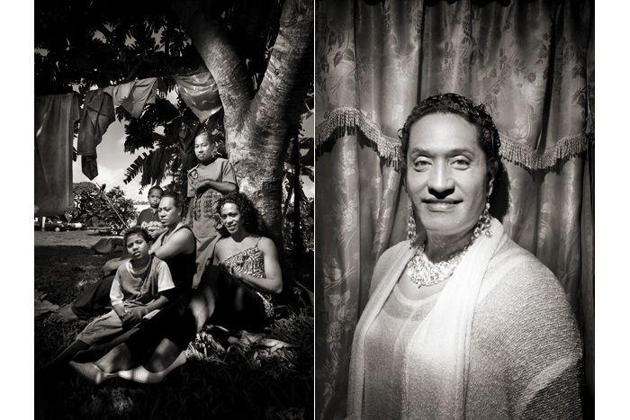 Marcello Bonfanti - PHOTOGRAPHER - The Fakaleiti of Tonga #Tonga #transgender #Polynesia #portrait