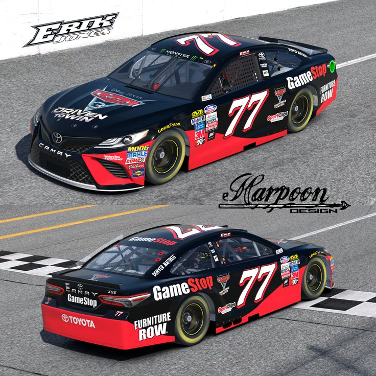 2017 Eric Jones GameStop Cars3