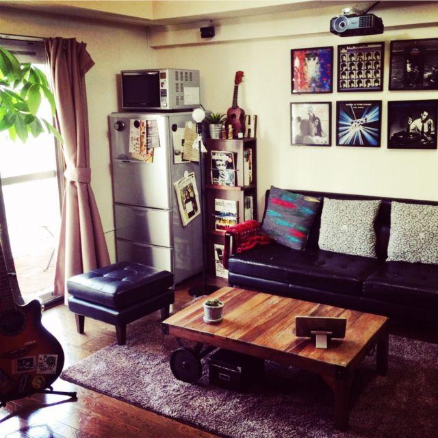 リビング 男の趣味部屋 音楽室 一人暮らし オタク部屋 などのインテリア実例 2015 04 14 10 06 41 Roomclip ルームクリップ インテリア インテリアアイデア 趣味部屋