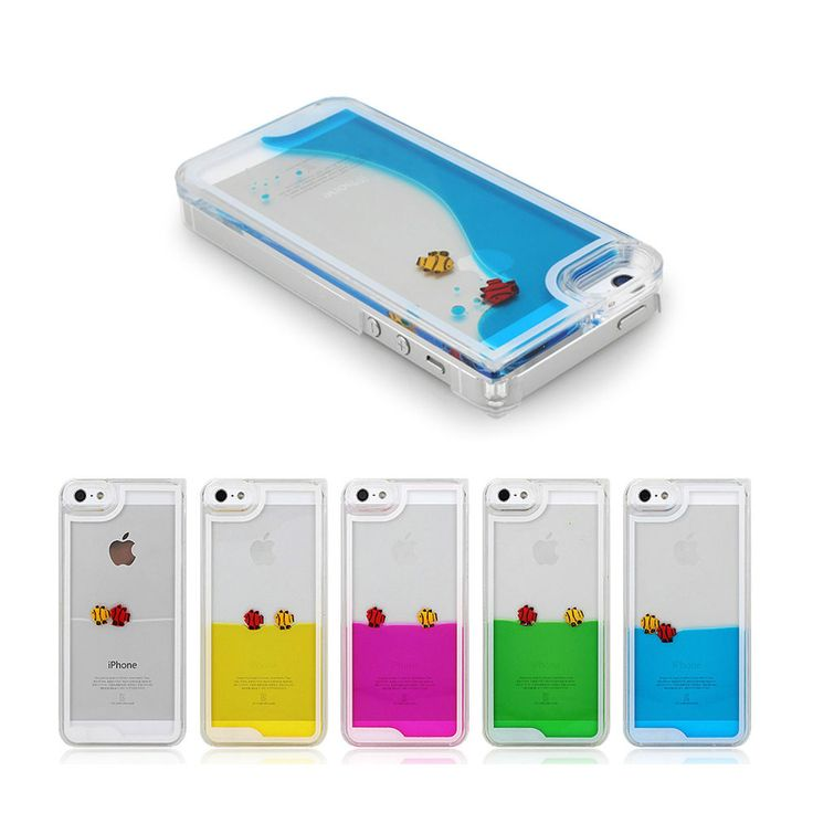 fishys that swim in your phone case!!! (fishys not real)