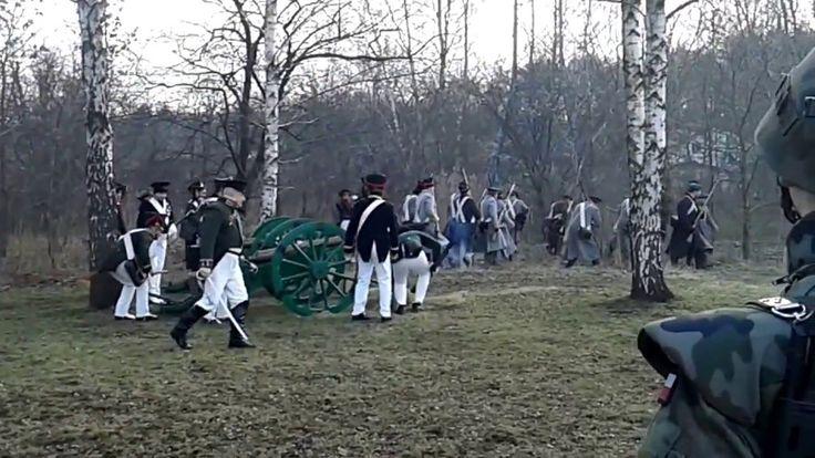 Kozacy przed atakiem - rekonstrukcja po 185 latach