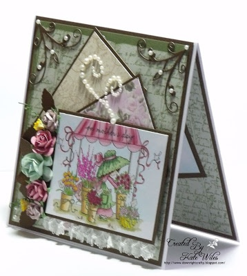 Wild Rose Studio New Releases - Day One Annabelle with Flowers