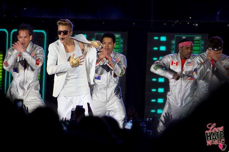 Justin Bieber live in South Africa 2013