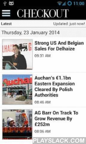 Checkout.ie  Android App - playslack.com ,  The leading news source for the FMCG Market in the palm of your hand. From breaking news, to business, technology, manufacturing and FMCG market all divided into clear sections, this app lets you watch video reports and read the latest updates wherever you are. The consistent quality and high standard of professional editorial, makes it one of today's most sought after publications for the FMCG market.Introducing Checkout Publications Android…