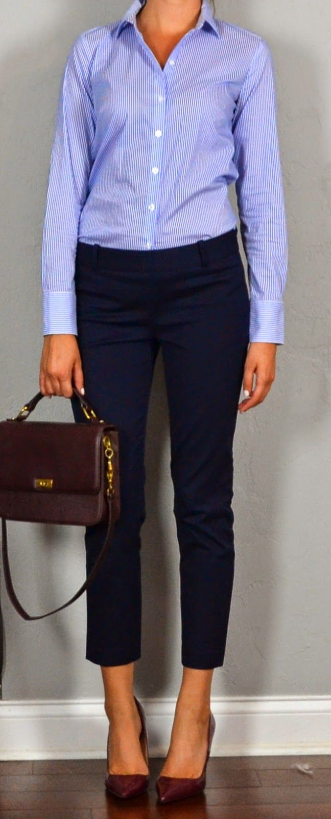 Pink n blue dress pants