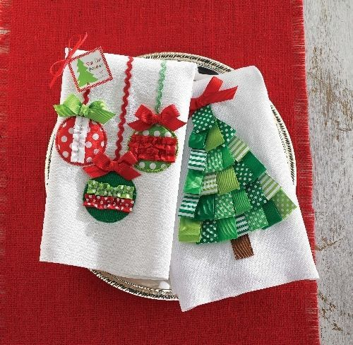 Homemade Gifts For The Holidays Dish Towels Homemade
