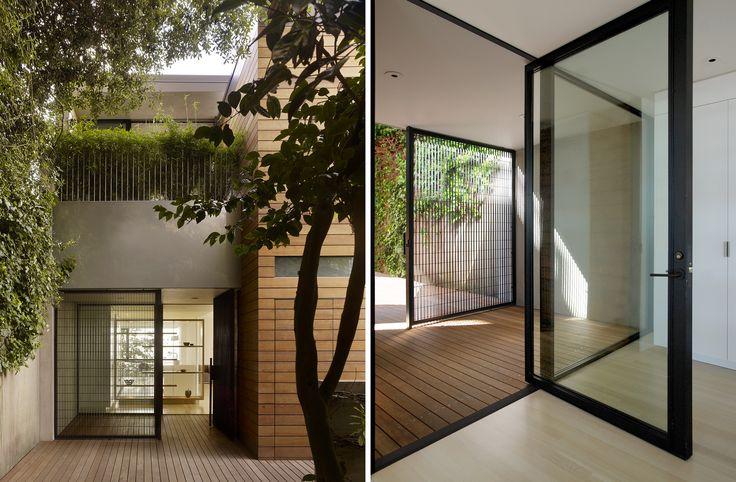 Ножницы дом современный дом в Сан-Франциско, Калифорния, Aidlin... на жить
