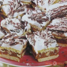 Böbe féle puncsos süti