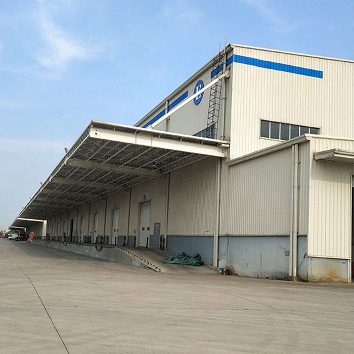 steel structure of building kuwait Warehouse construction