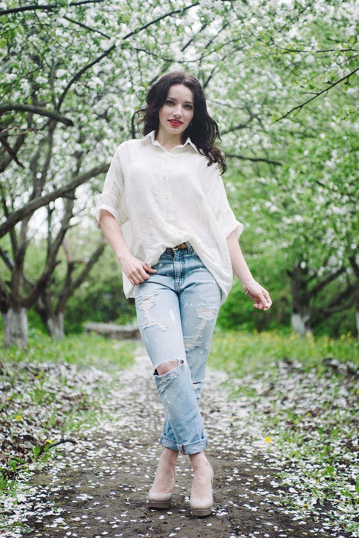 Яблони в цвету) / Фотофорум / Burdastyle