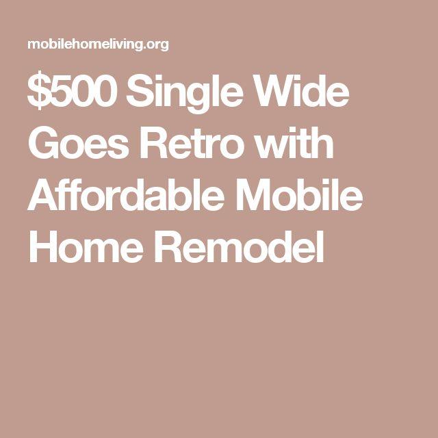 Sub Flooring For Mobile Homes: Best 25+ Single Wide Ideas On Pinterest