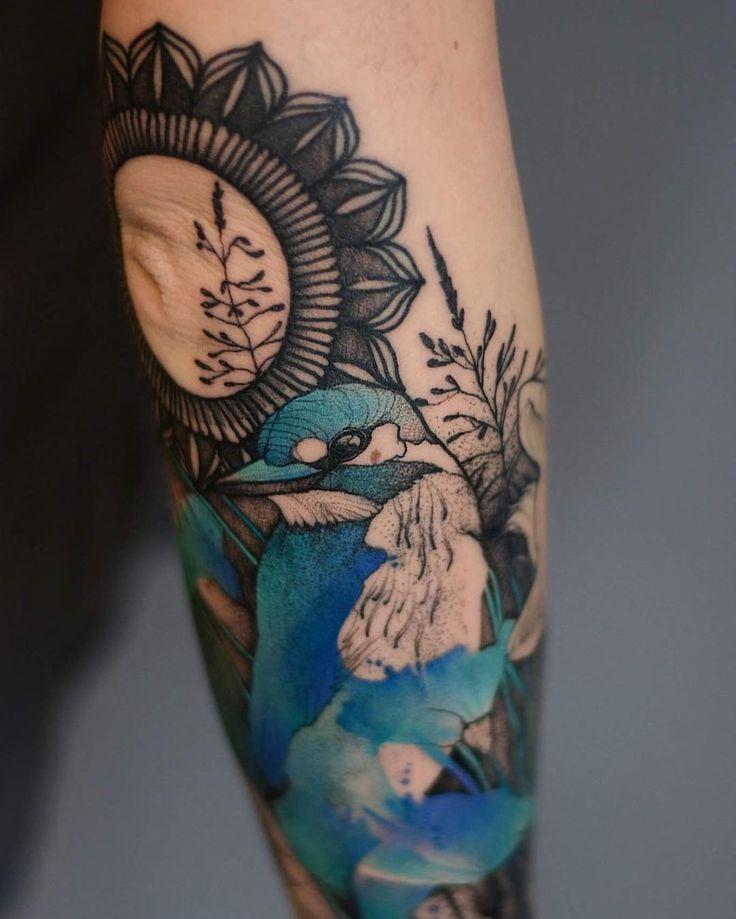 Best Body Art Images On Pinterest Denver Imagination And - Polish artist creates elegant animal tattoos finished in vibrant colours